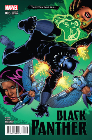 Black Panther #5 (Cassaday Story Thus Cover)