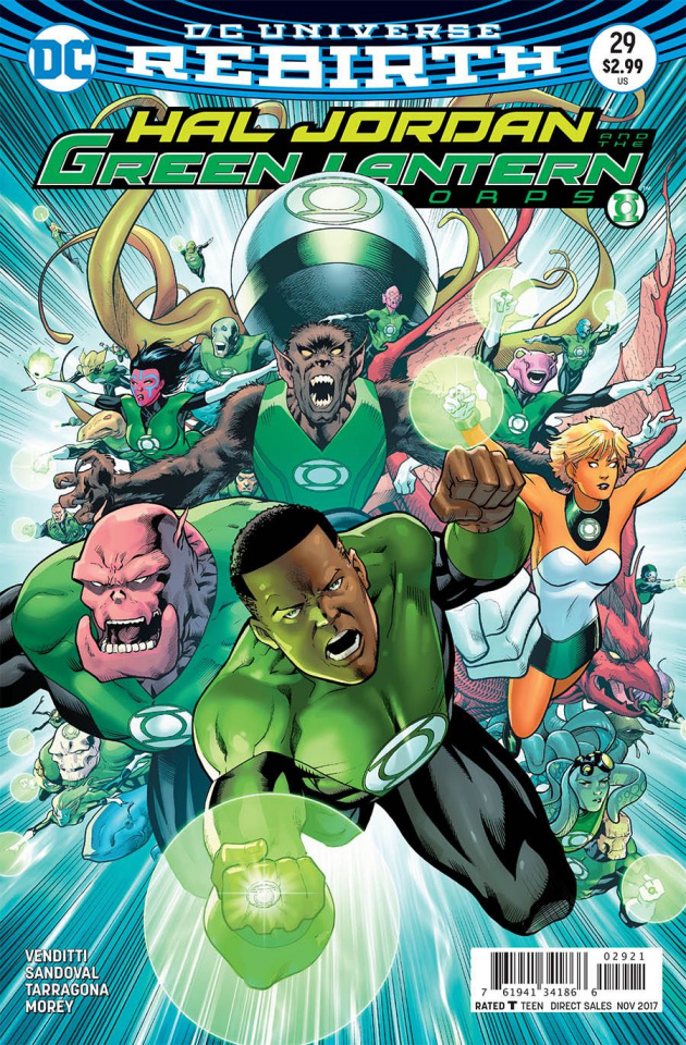 Hal Jordan and The Green Lantern Corps #29 (Variant Cover)