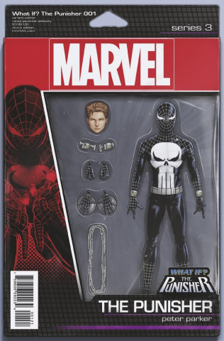 What If? The Punisher #1 (Christopher Action Figure Cover)