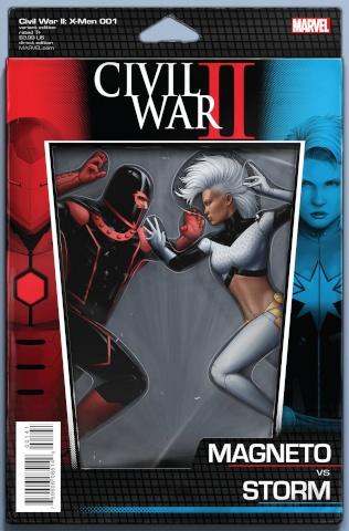 Civil War II: X-Men #1 (Action Figure Cover)