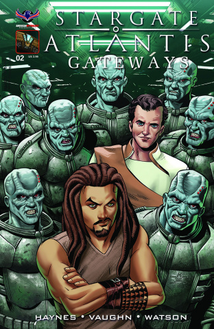 Stargate Atlantis: Gateways #2 (Wieringo Cover)