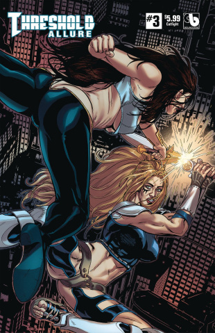 Threshold: Allure #3 (Catfight Cover)