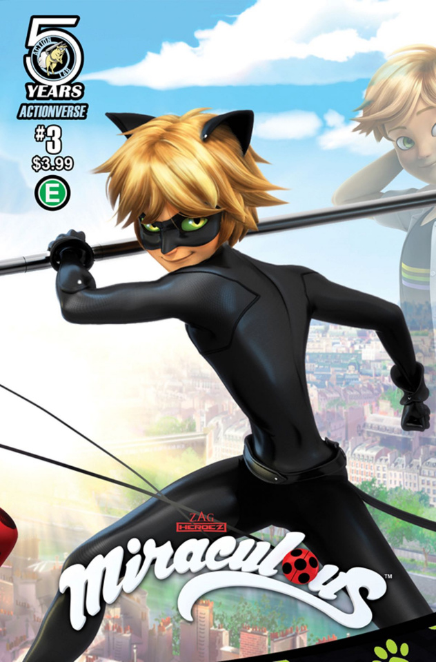 Miraculous #3 (Cover B)