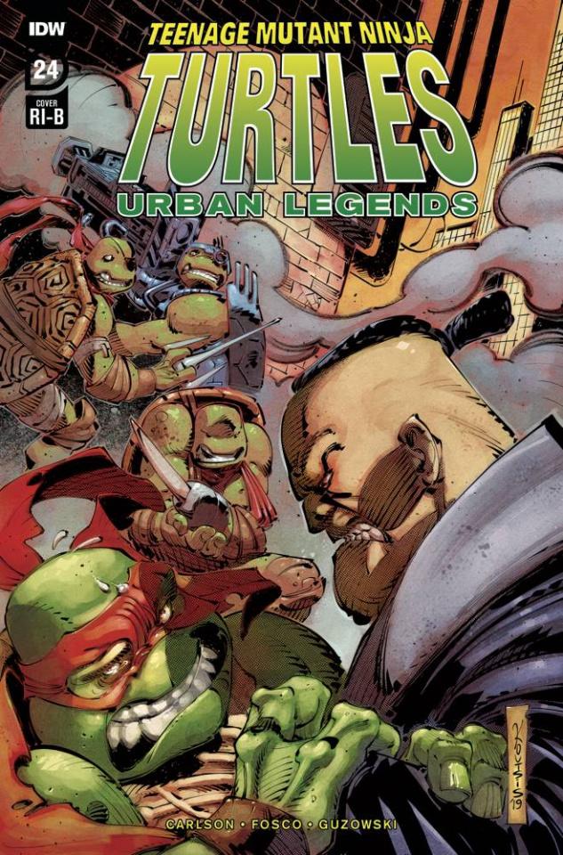 Teenage Mutant Ninja Turtles: Urban Legends #24 (25 Copy Koutsis Cover)