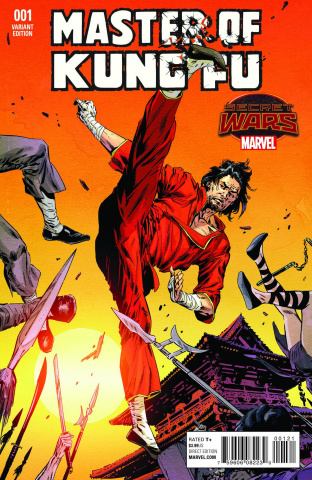 Master of Kung Fu #1 (Guice Cover)