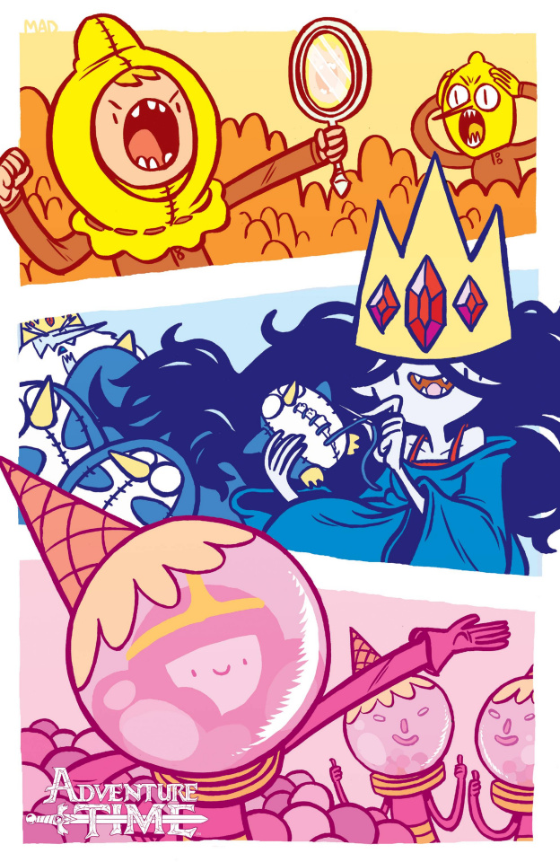 Adventure Time #40 (SDCC Cover)