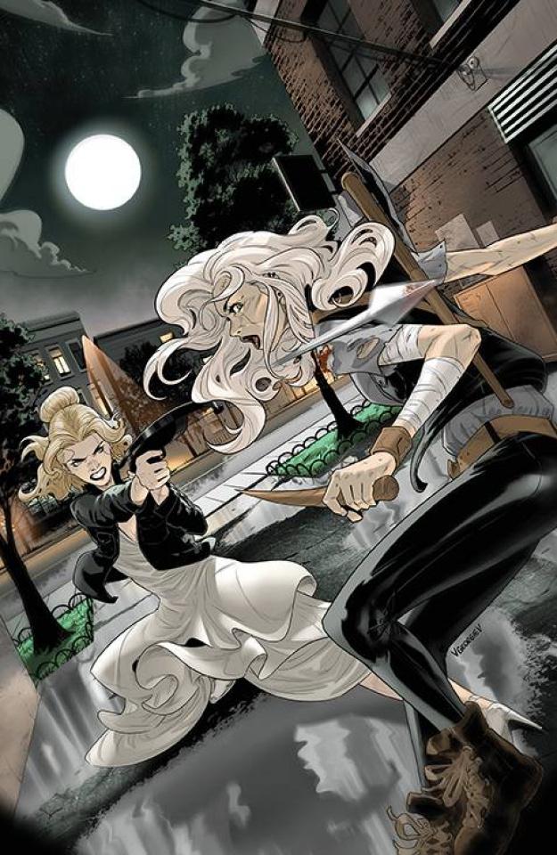 Buffy the Vampire Slayer #27 (Georgiev Cover)
