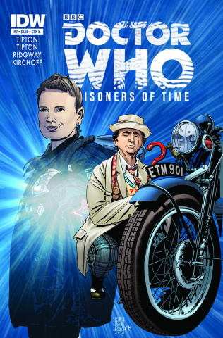 Doctor Who: Prisoners of Time #7 (25 Copy Cover)