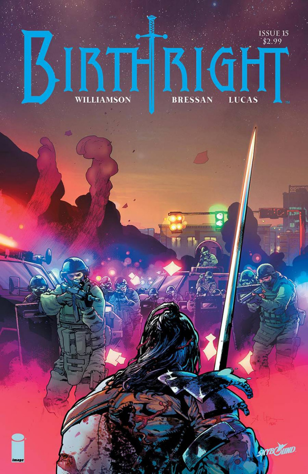 Birthright #15 (Bressan & Lucas Cover)