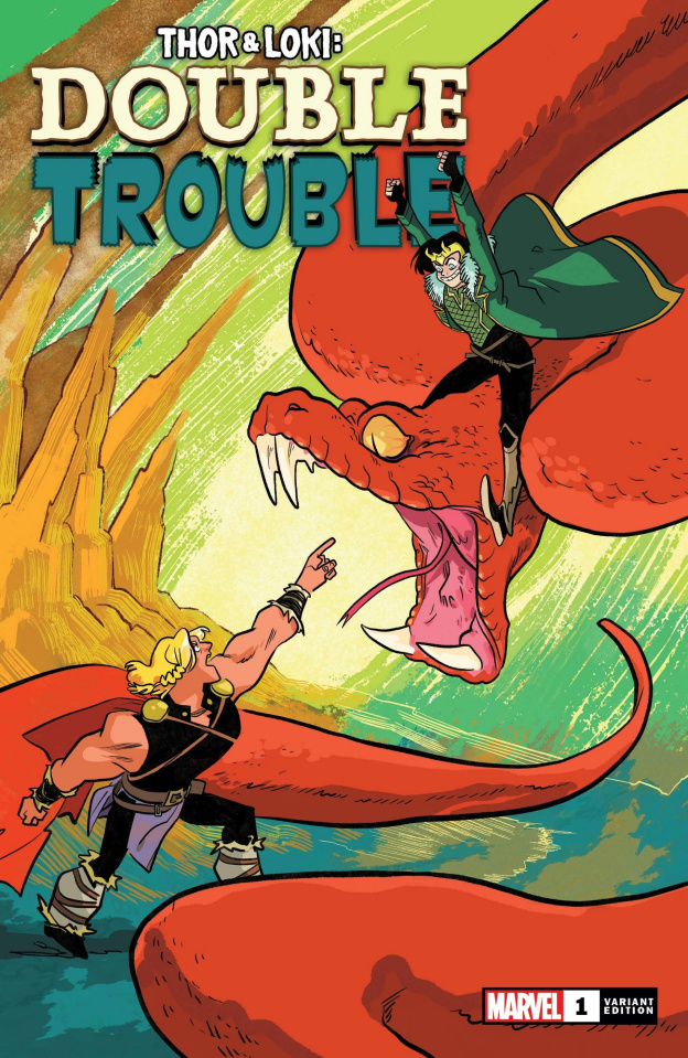 Thor & Loki: Double Trouble #1 (Henderson Cover)