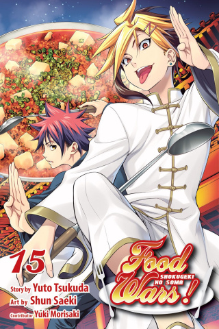 Food Wars! Shokugeki No Soma Vol. 15