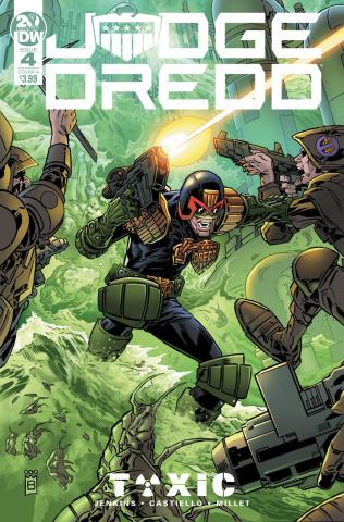 Judge Dredd: Toxic #4 (Buckingham Cover)