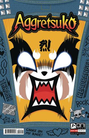 Aggretsuko #4 (Parker Cover)