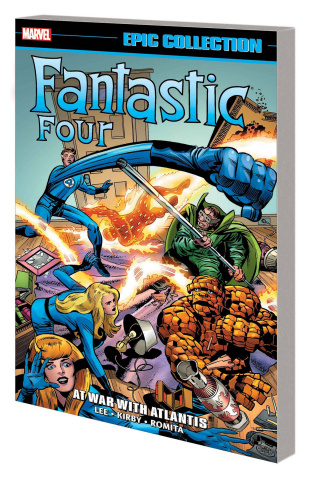 Fantastic Four: At War With Atlantis (Epic Collection)