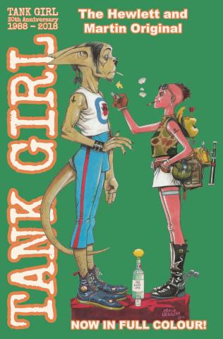 Tank Girl: Full Color Classics 1993-1994 (Hewlett Cover)