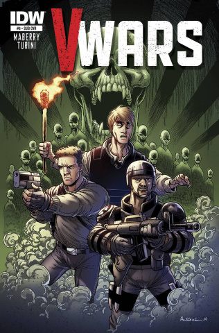 V-Wars #8 (Subscription Cover)