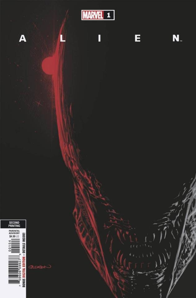 Alien #1 (Gleason 2nd Printing)