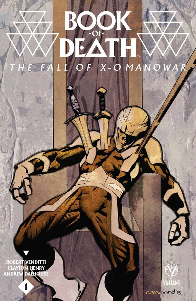 Book of Death: The Fall of X-O Manowar #1 (Nord Cover)