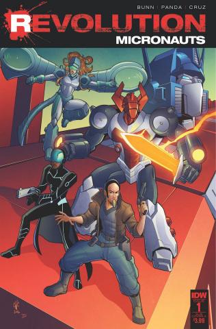 Micronauts: Revolution #1 (Subscription Cover)