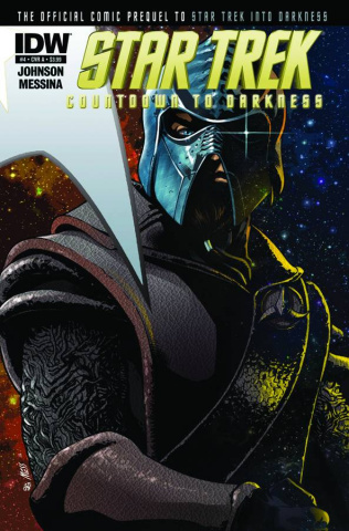Star Trek: Countdown To Darkness #4 (250 Copy Cover)