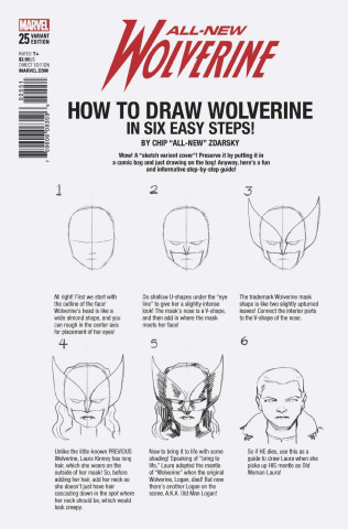 All-New Wolverine #25 (Zdarsky How To Draw Cover)