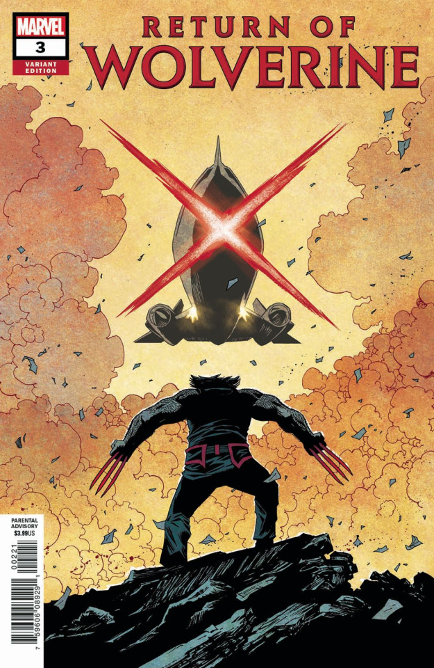 Return of Wolverine #3 (Shalvey Cover)