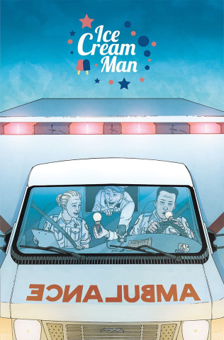 Ice Cream Man #8 (Morazzo & O'Halloran Cover)