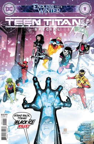 Teen Titans: Endless Winter Special #1 (Bernard Chang Cover)