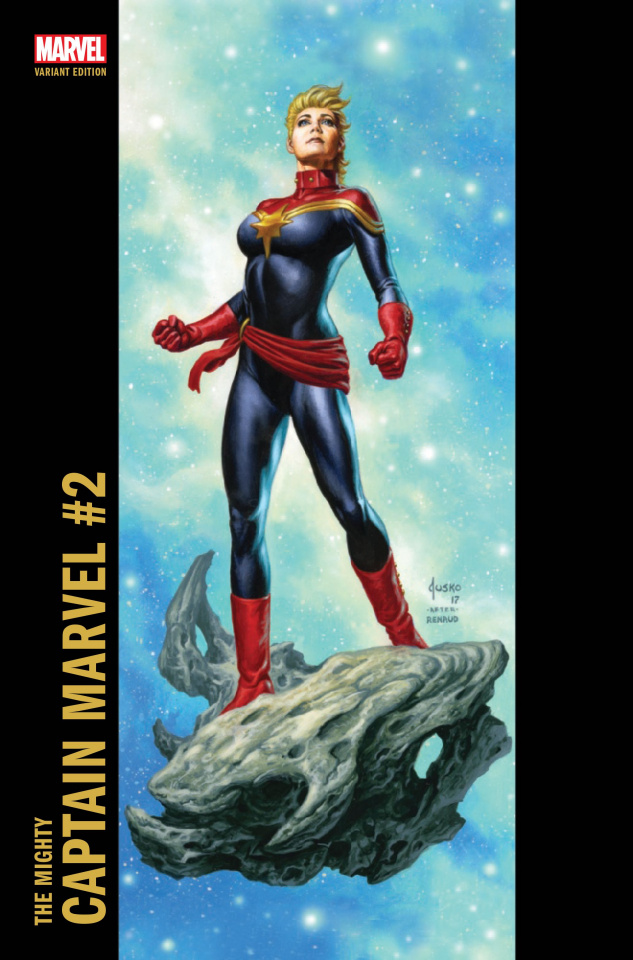 The Mighty Captain Marvel #2 (Jusko Corner Box Cover)