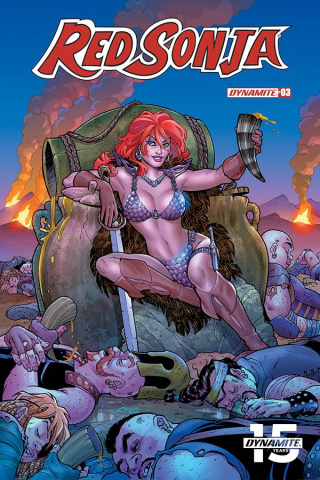 Red Sonja #3 (Conner Cover)