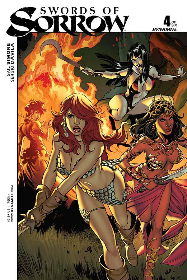 Swords of Sorrow #4 (Luppachino Cover)