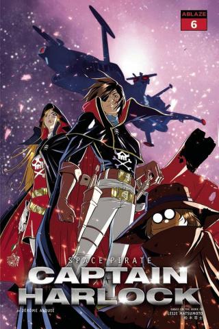 Space Pirate: Captain Harlock #6 (Qualano Cover)