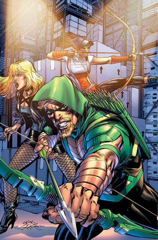 Green Arrow #17 (Variant Cover)