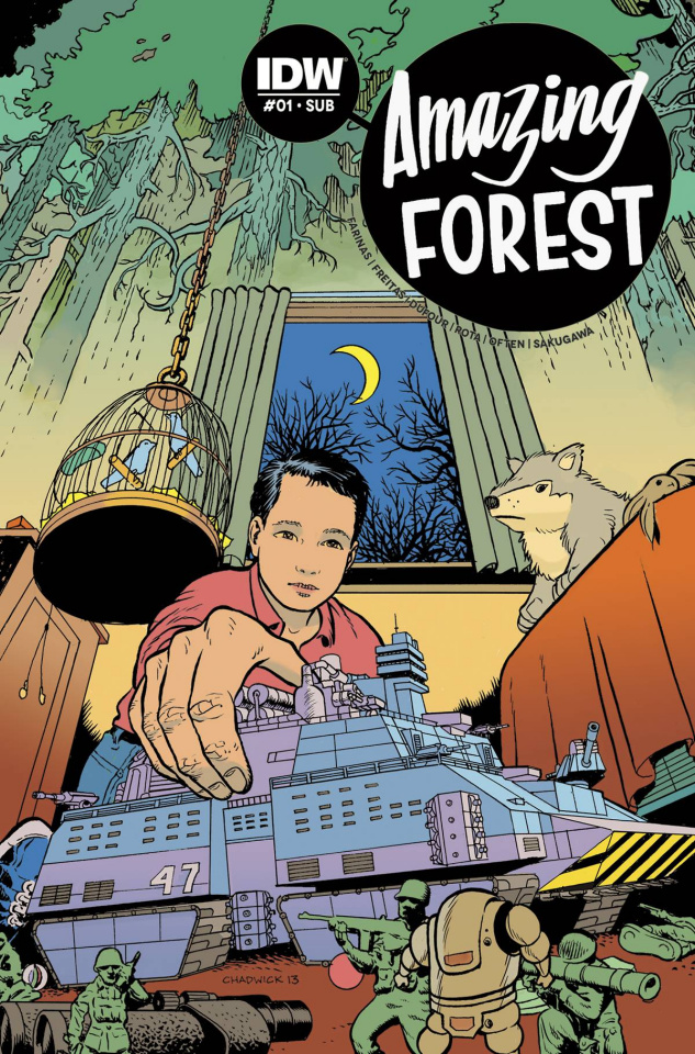 Amazing Forest #1 (Subscription Cover)