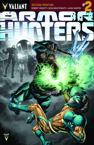 Armor Hunters #2 (2nd Printing)
