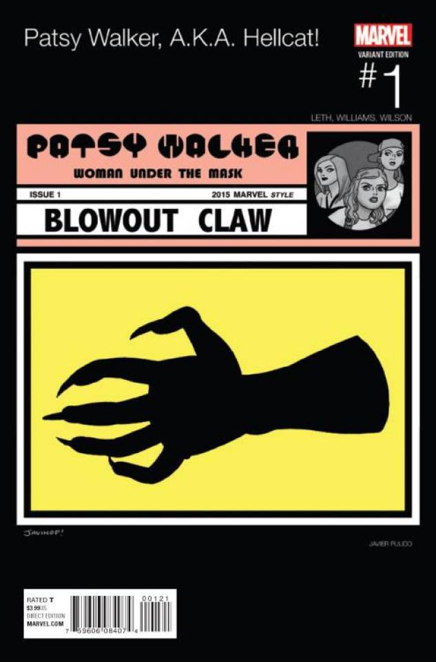 Patsy Walker, a.k.a. Hellcat #1 (Pulido Hip Hop Cover)