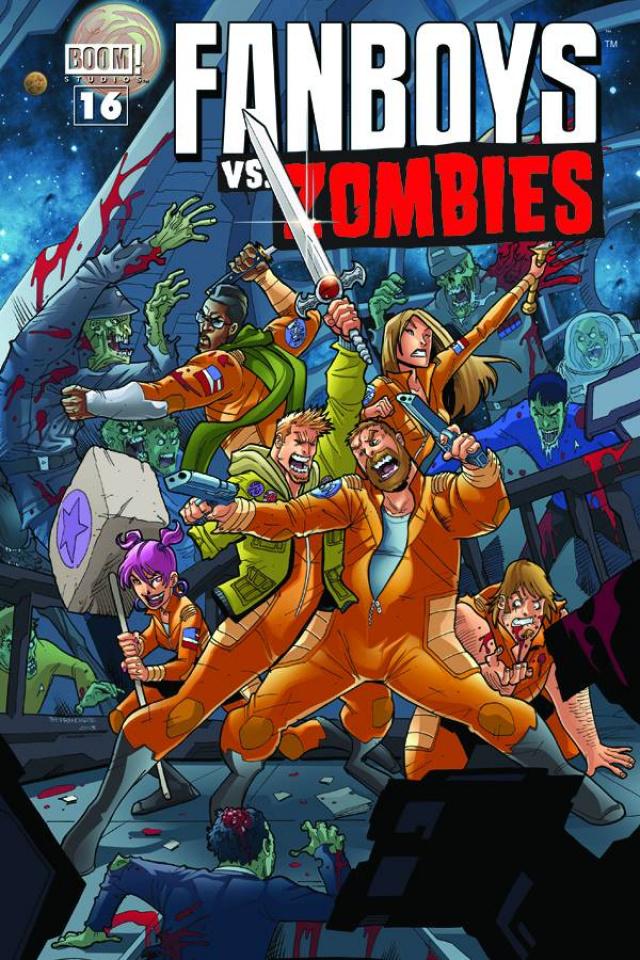 Fanboys vs. Zombies #16