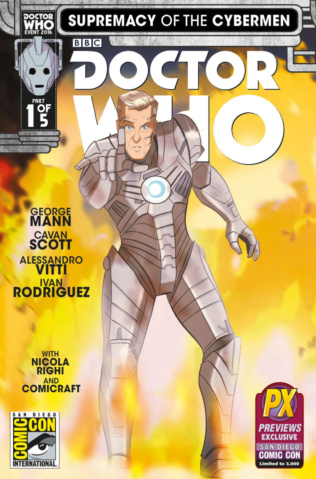 Doctor Who: Supremacy of the Cybermen #1 (SDCC 2016 Cover)