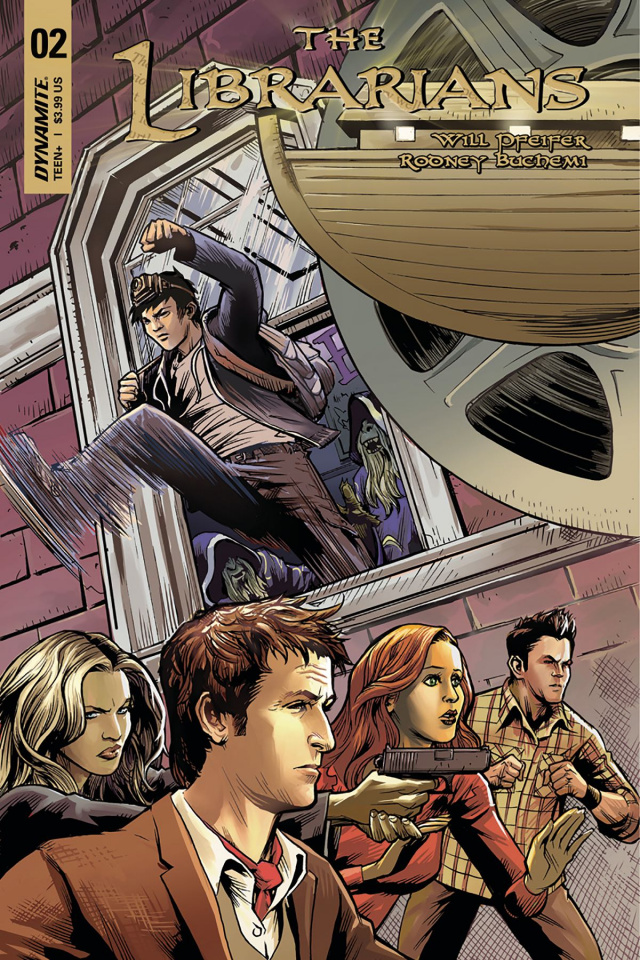 The Librarians #2 (Moline Cover)