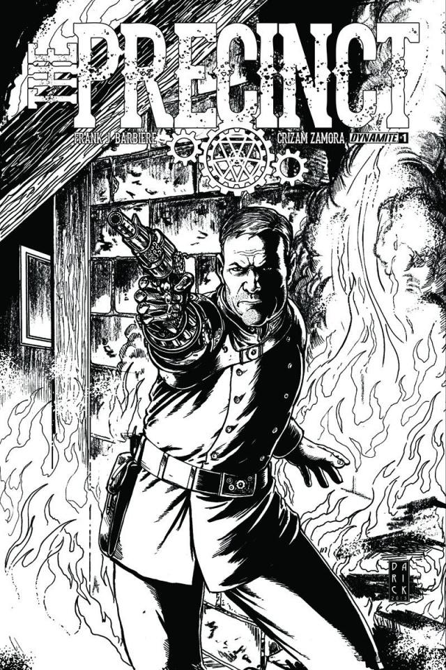 The Precinct #1 (10 Copy Robertson B&W Cover)