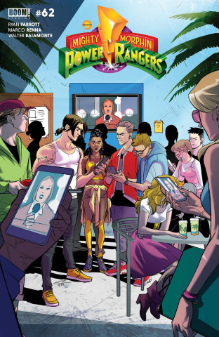 Mighty Morphin' #4 (Legacy Carlinie Cover)