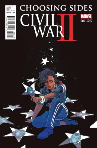 Civil War II: Choosing Sides #2 (Ward Cover)