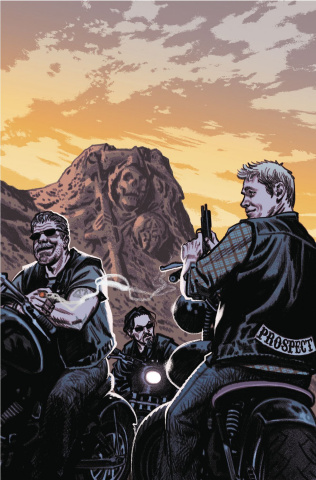 Sons of Anarchy: Redwood Original #5 (Subscription Smallwood Cover)