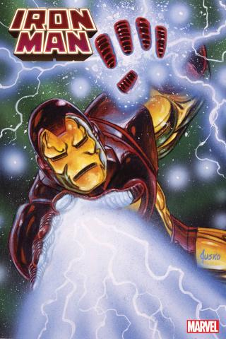 Iron Man #13 (Jusko Marvel Masterpieces Cover)