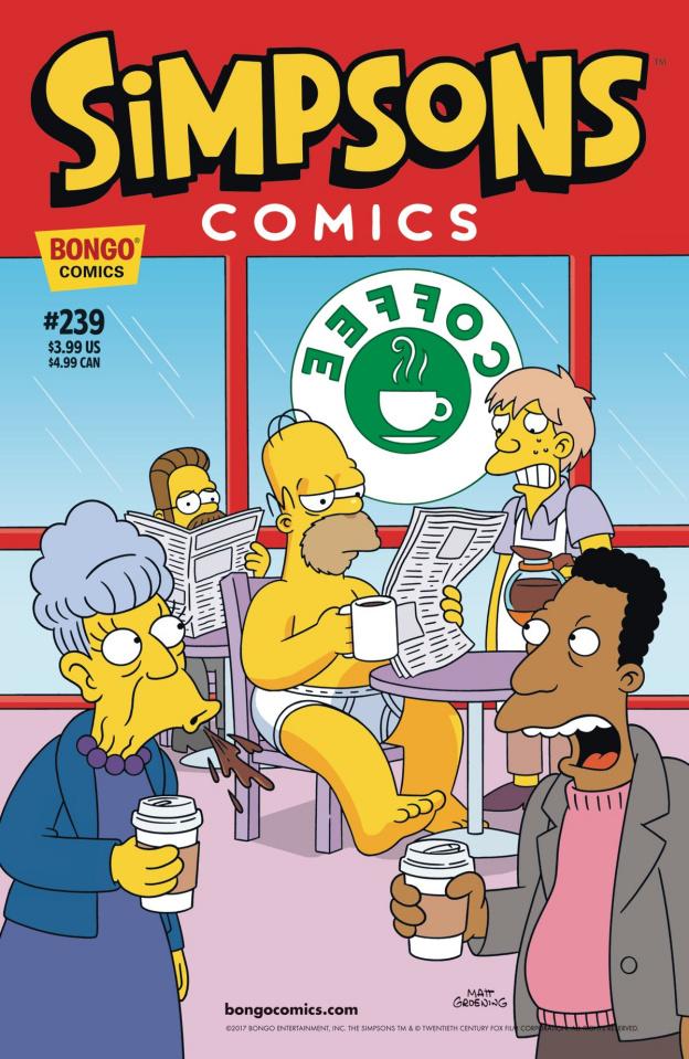 Simpsons Comics #239