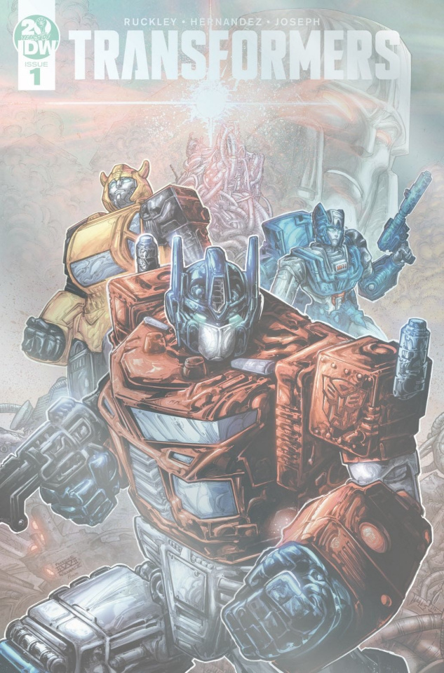 The Transformers #1 (50 Copy Williams Foil Cover)