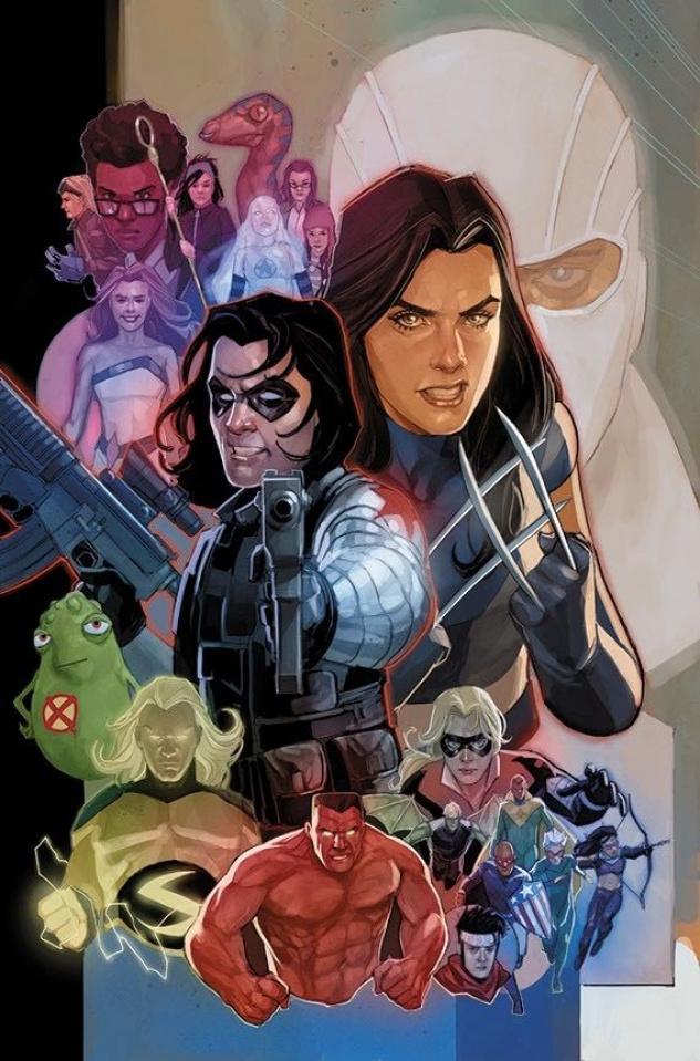 Tony Stark: Iron Man #8 (Noto Marvel 80th Anniversary Cover)