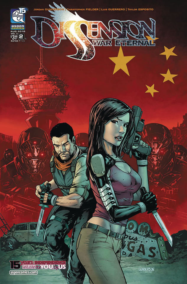 Dissension: War Eternal #2 (Gunderson Cover)