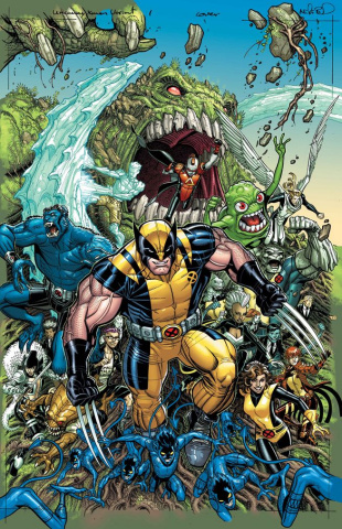 Doctor Strange #8 (Bradshaw Uncanny X-Men Cover)