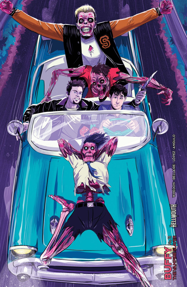 Buffy the Vampire Slayer #11 (Preorder Inzana Cover)